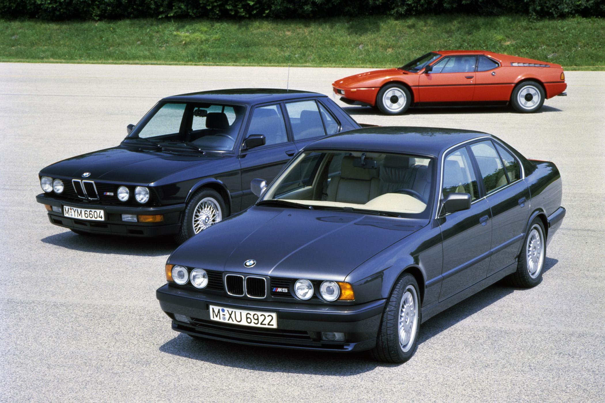 BMW E28 M5 E34 M5