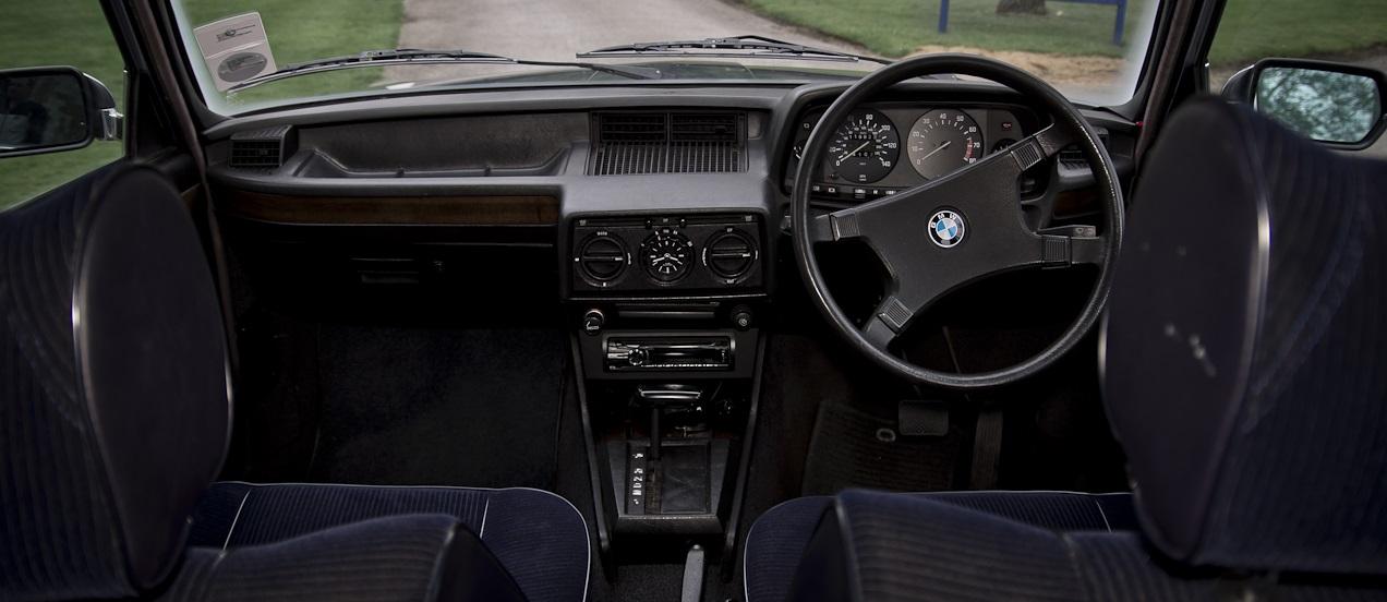 BMW e12 528 automatic салон