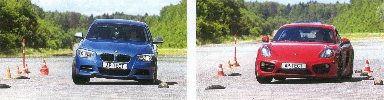 BMW m135i и Porsche cayman