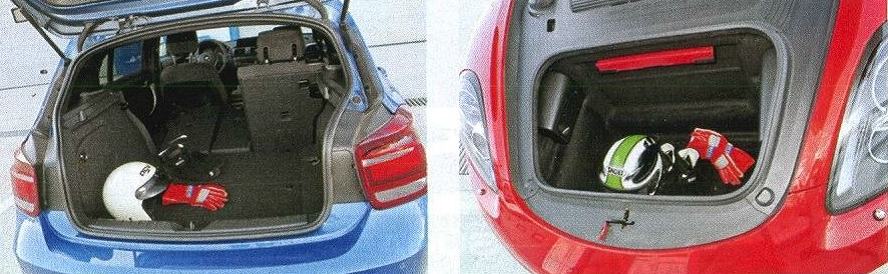 BMW m135i багажник