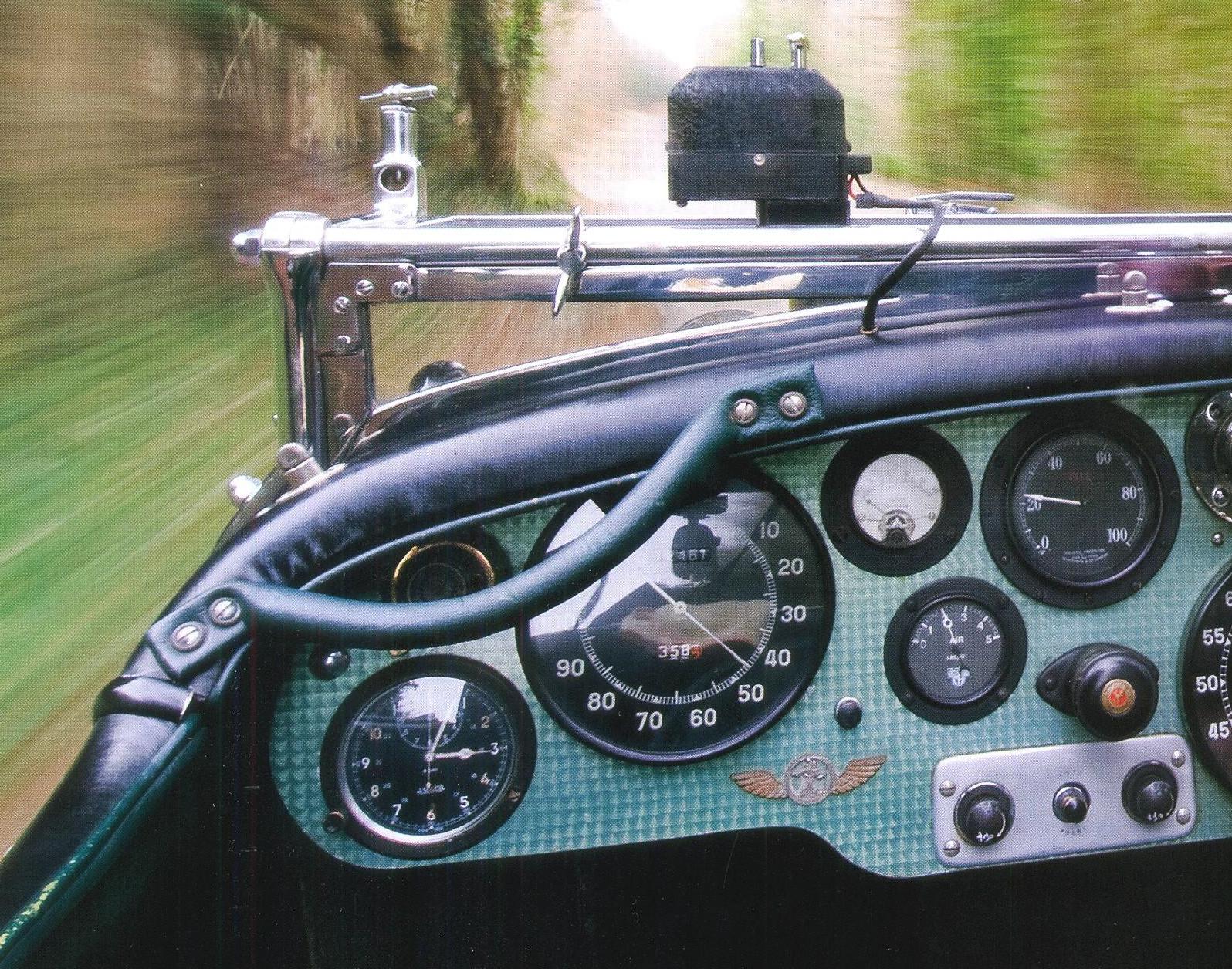 приборы Bentley 4 1/2 Litre Blower