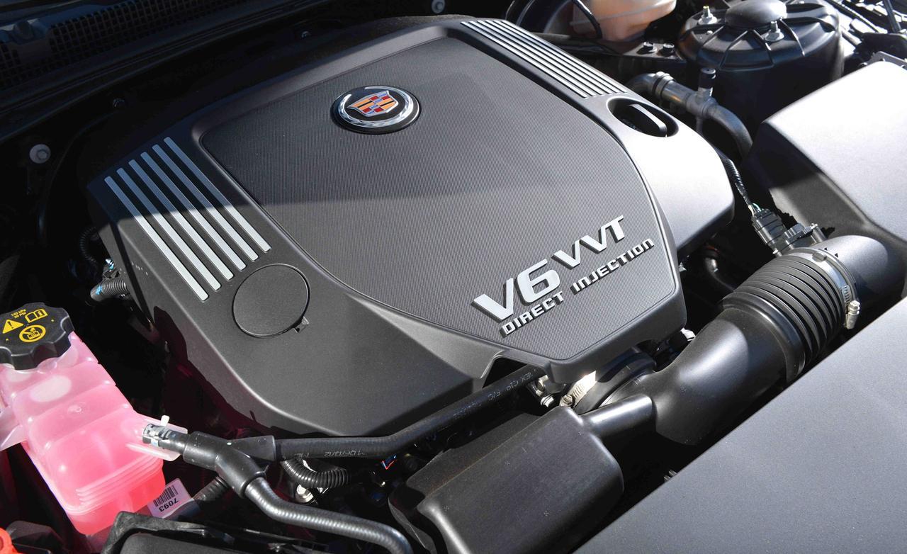 Cadillac ats 2.0 drive-my тест 2013