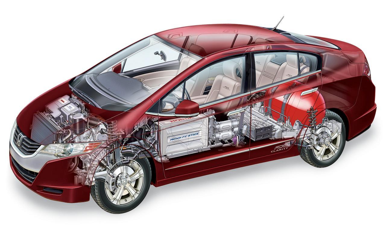 водородная Honda FCX Clarity