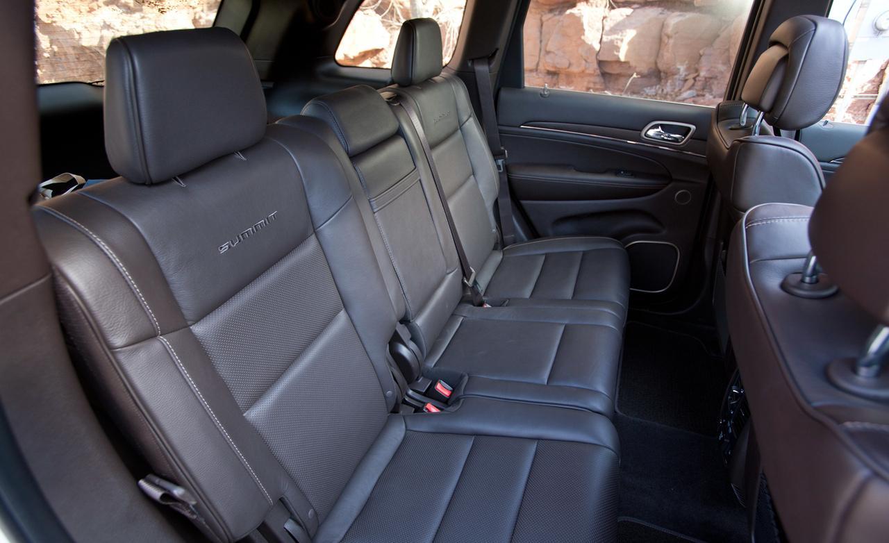 Jeep grand cherokee багажник