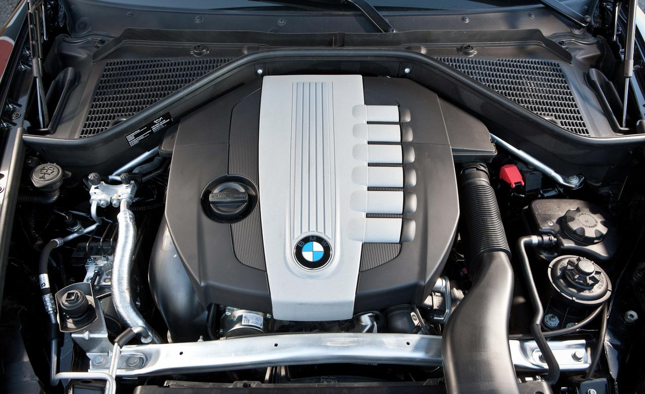 BMW X5 xDrive35d мотор