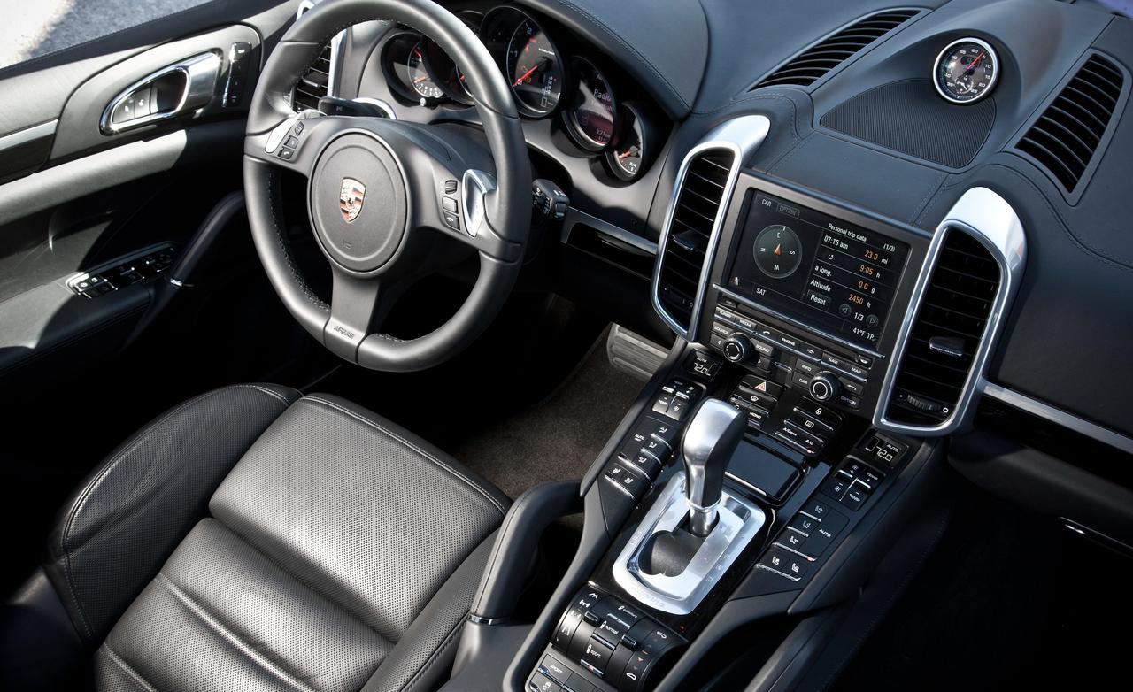 Porsche cayenne diesel интерьер