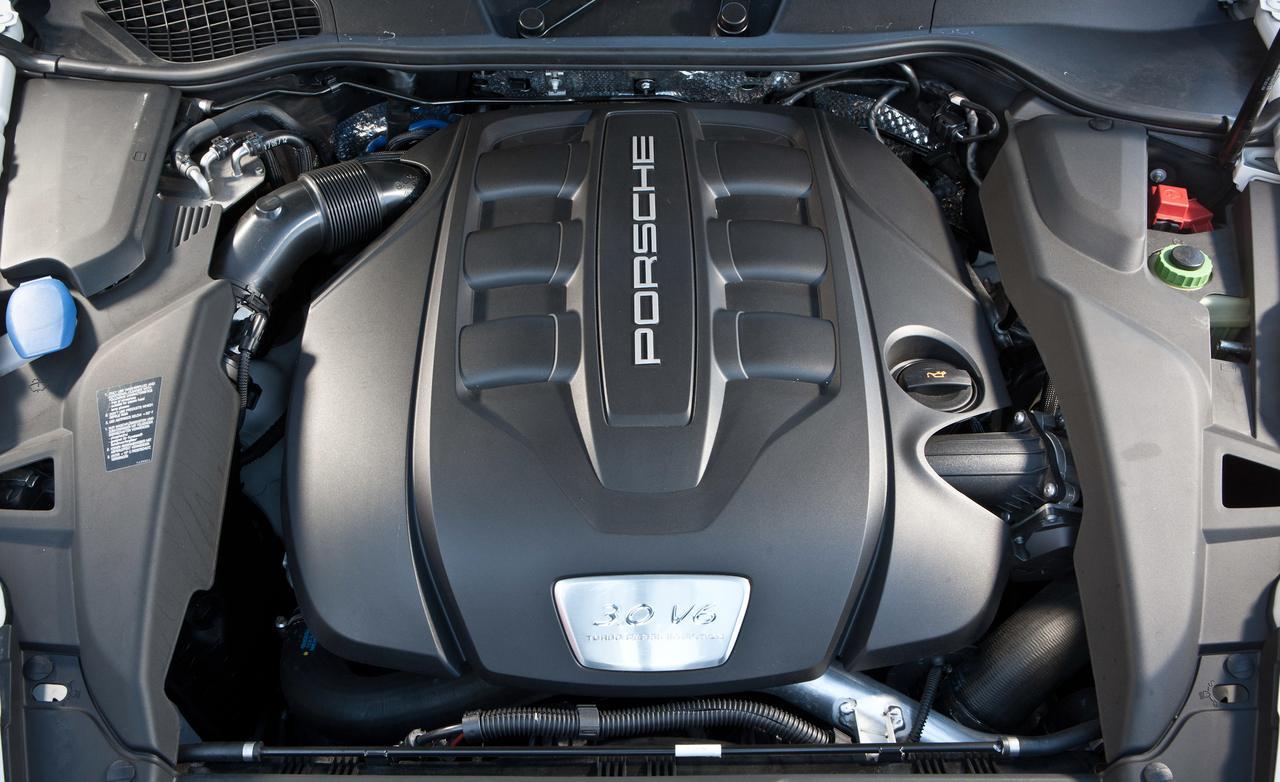 Porsche cayenne diesel тест