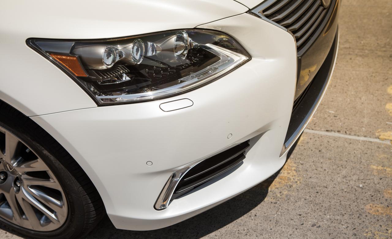 Тест нового Lexus LS 600h