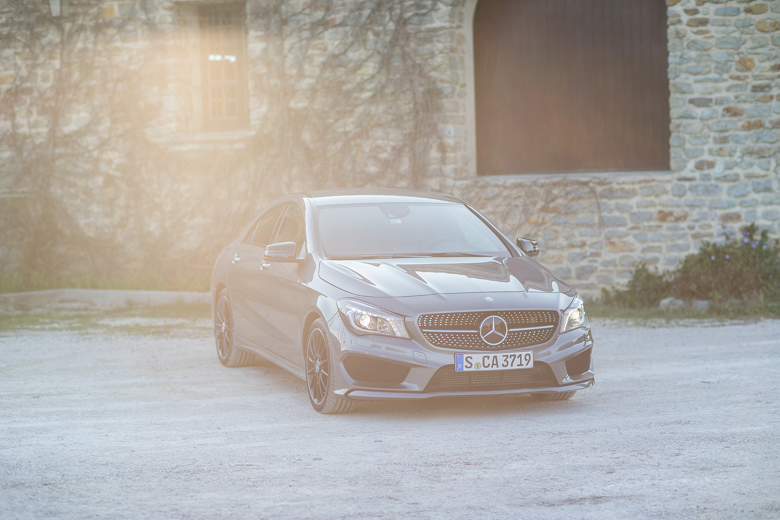 Mercedes-Benz CLA 200 drive-my тест драйв 2013