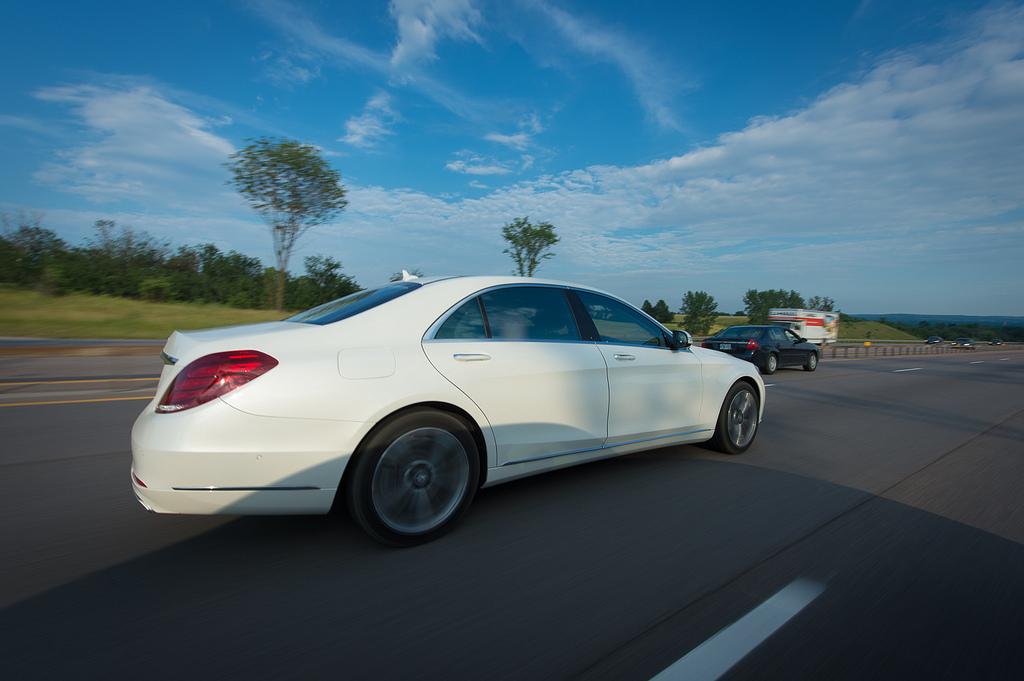 Mercedes-Benz S-klasse W222 тест-драйв