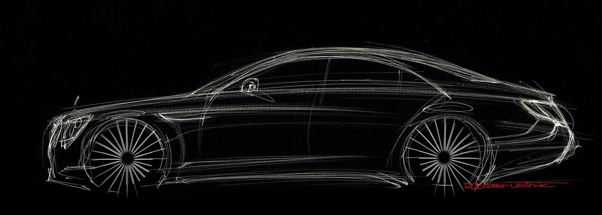 Mercedes-Benz W222 скетч
