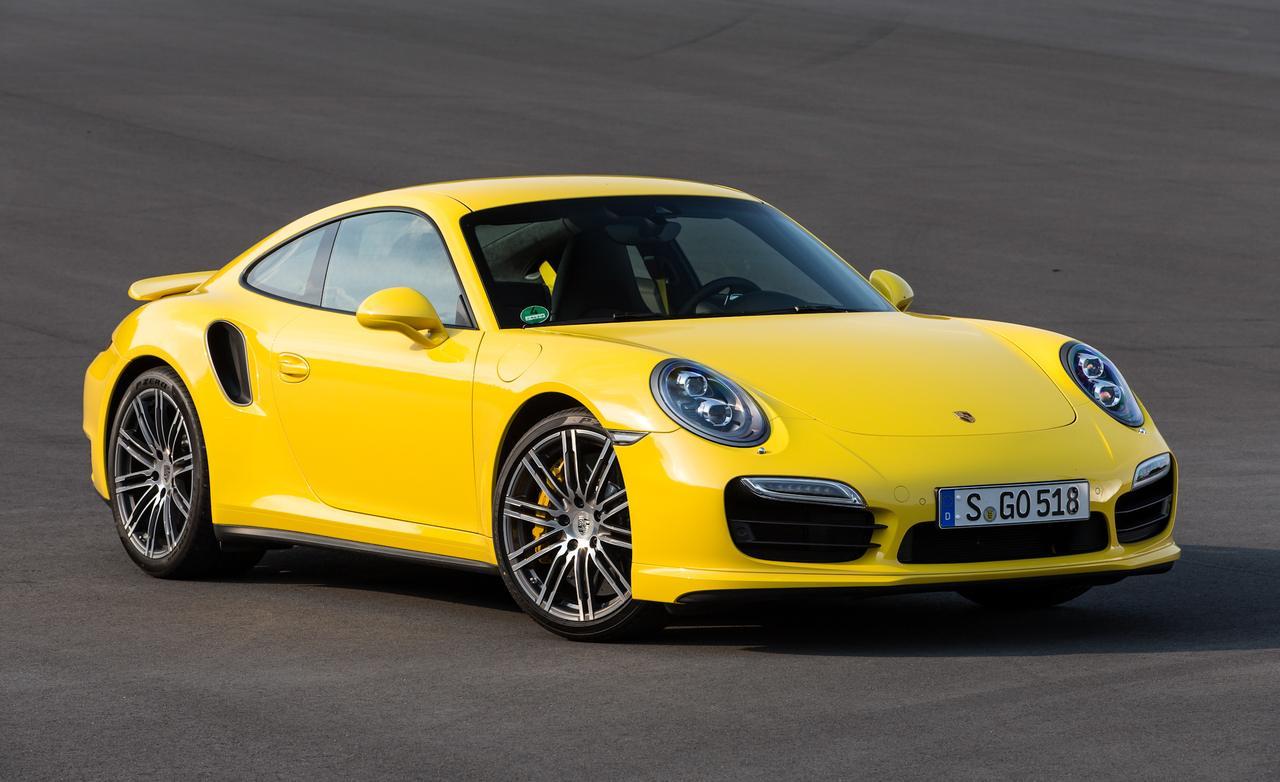 Тест-драйв Porsche 911 Turbo S 991