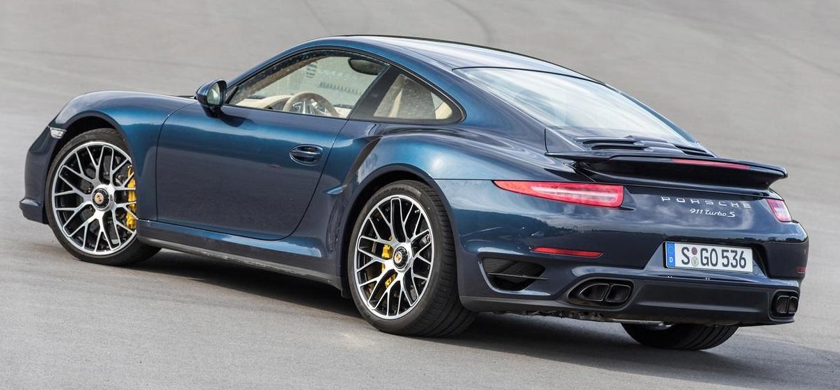 Porsche 911 turbo S 911 тест