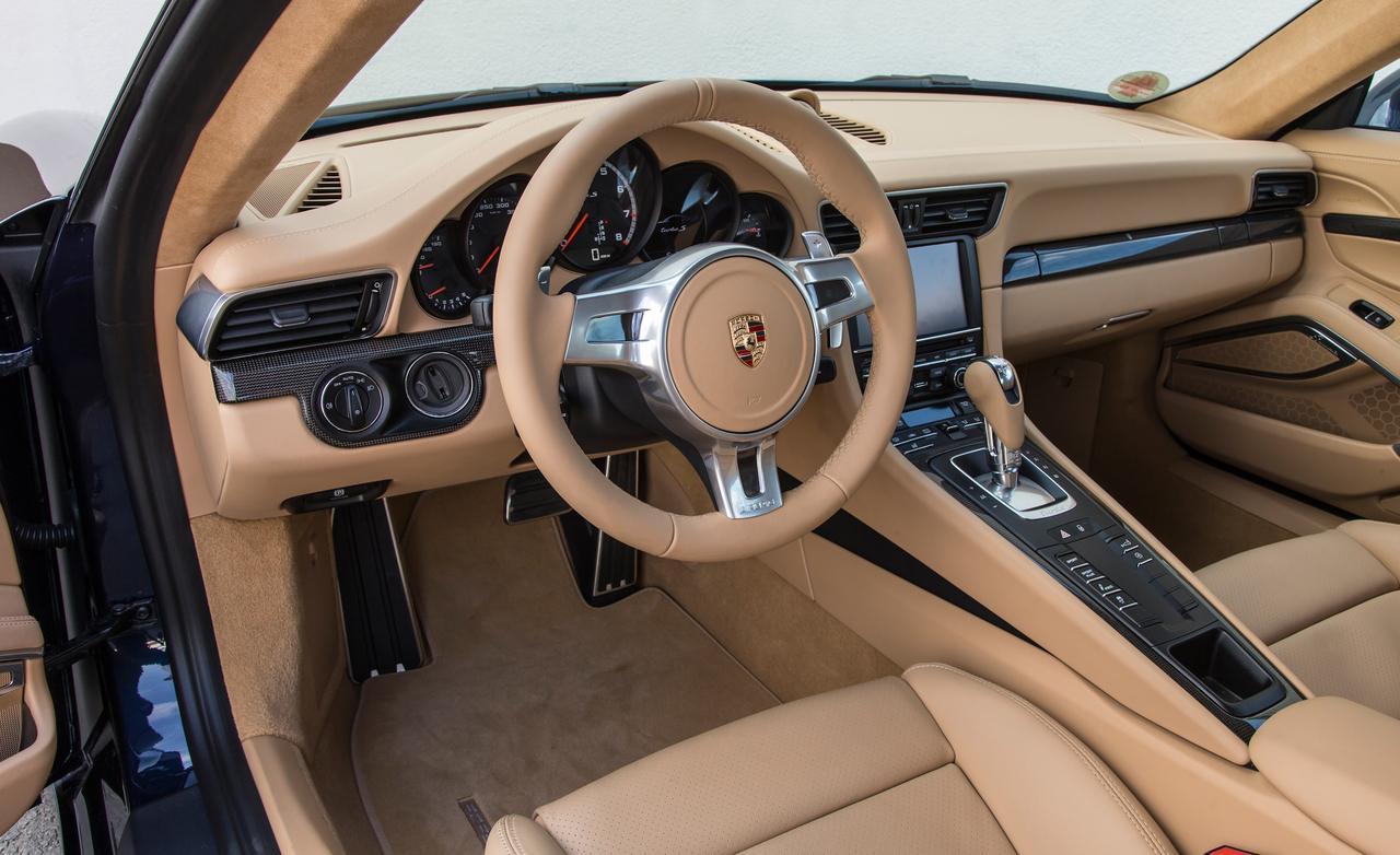 Porsche 911 turbo S салон