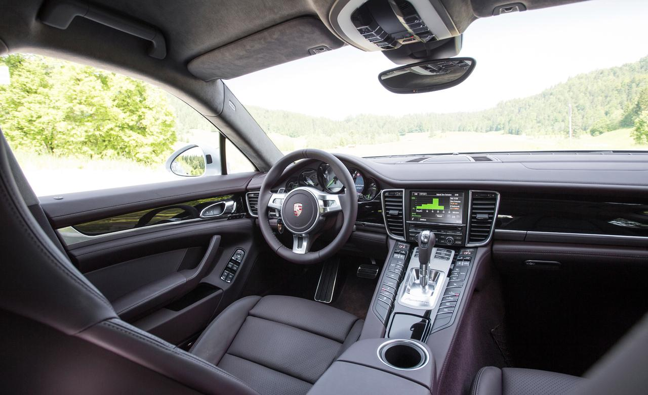 Porsche panamera-s drive-my test 2013 салон порше