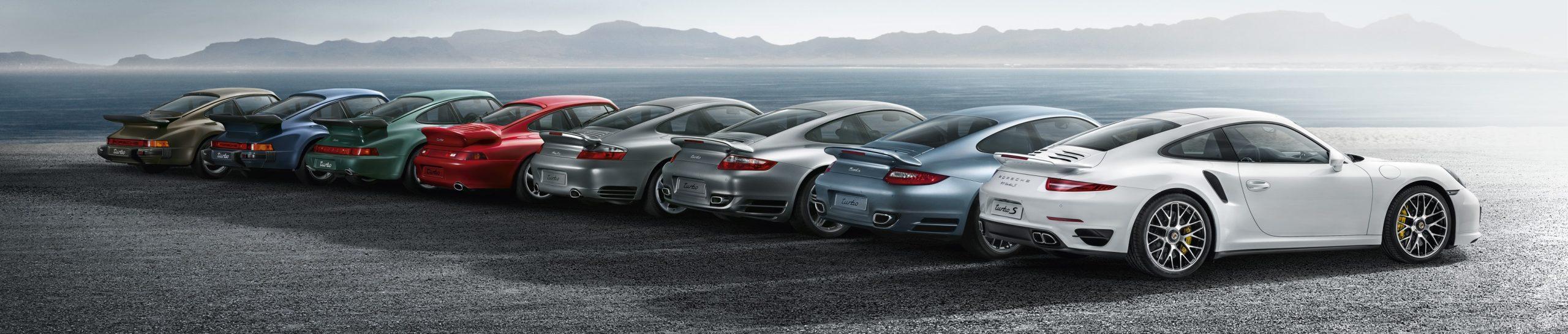 Все поколения Порше 911 Турбо