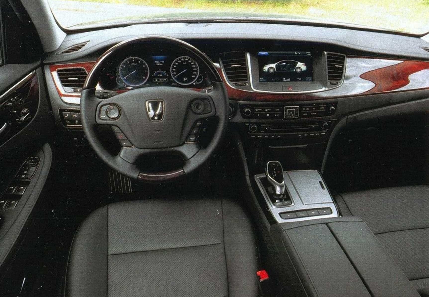 Тест VW Phaeton, Jaguar XJ, Hyundai Equus и Kia Quoris