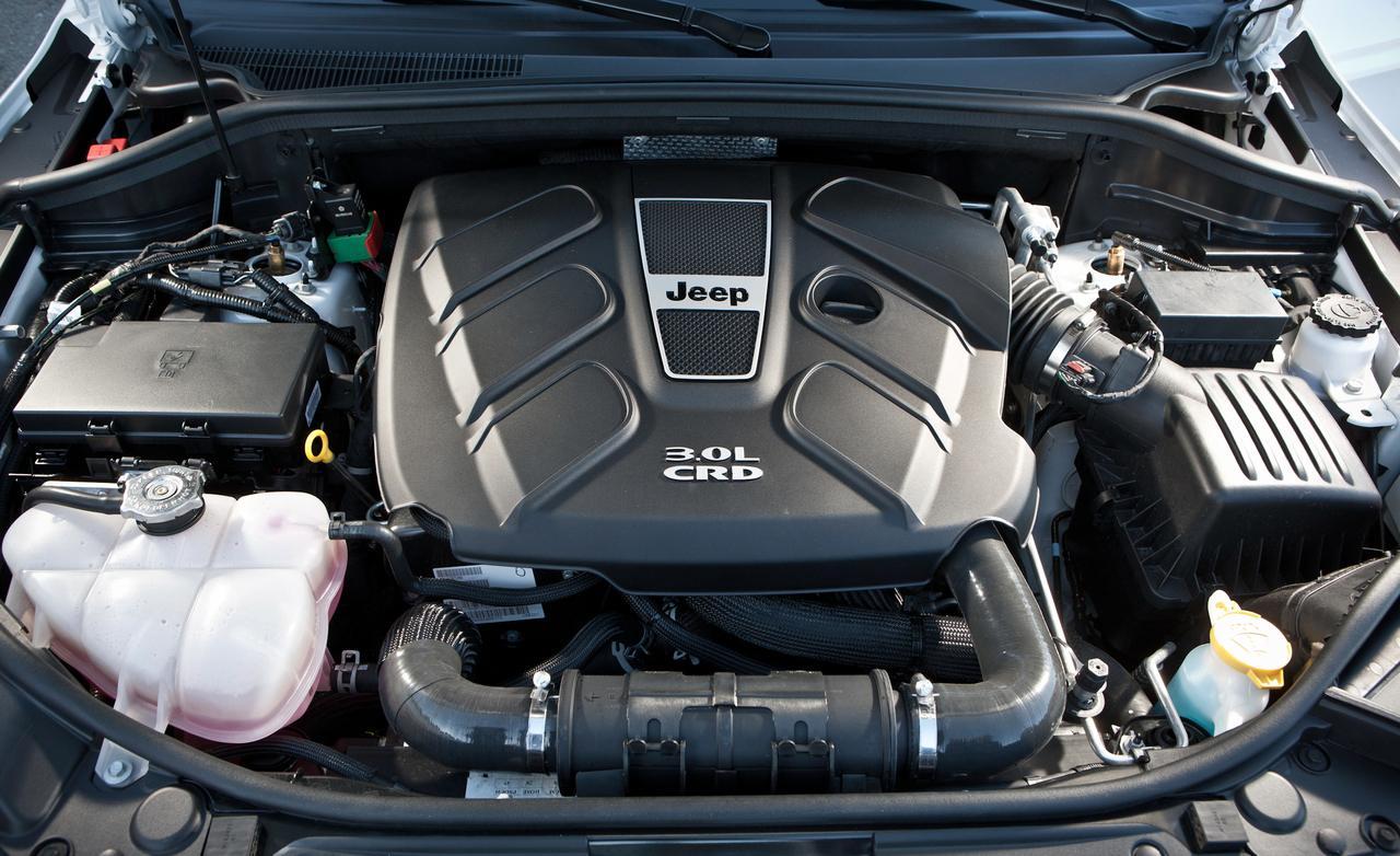 Jeep grand cherokee мотор
