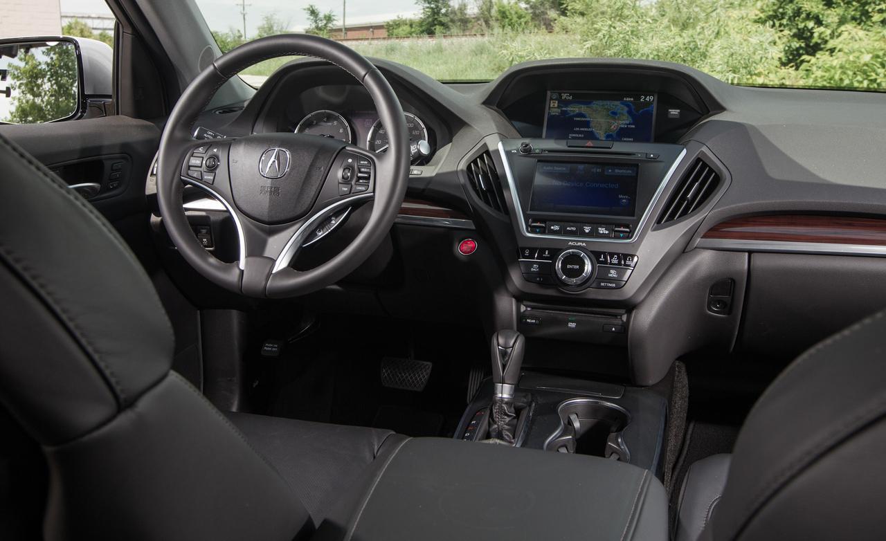Acura mdx sh awd тест