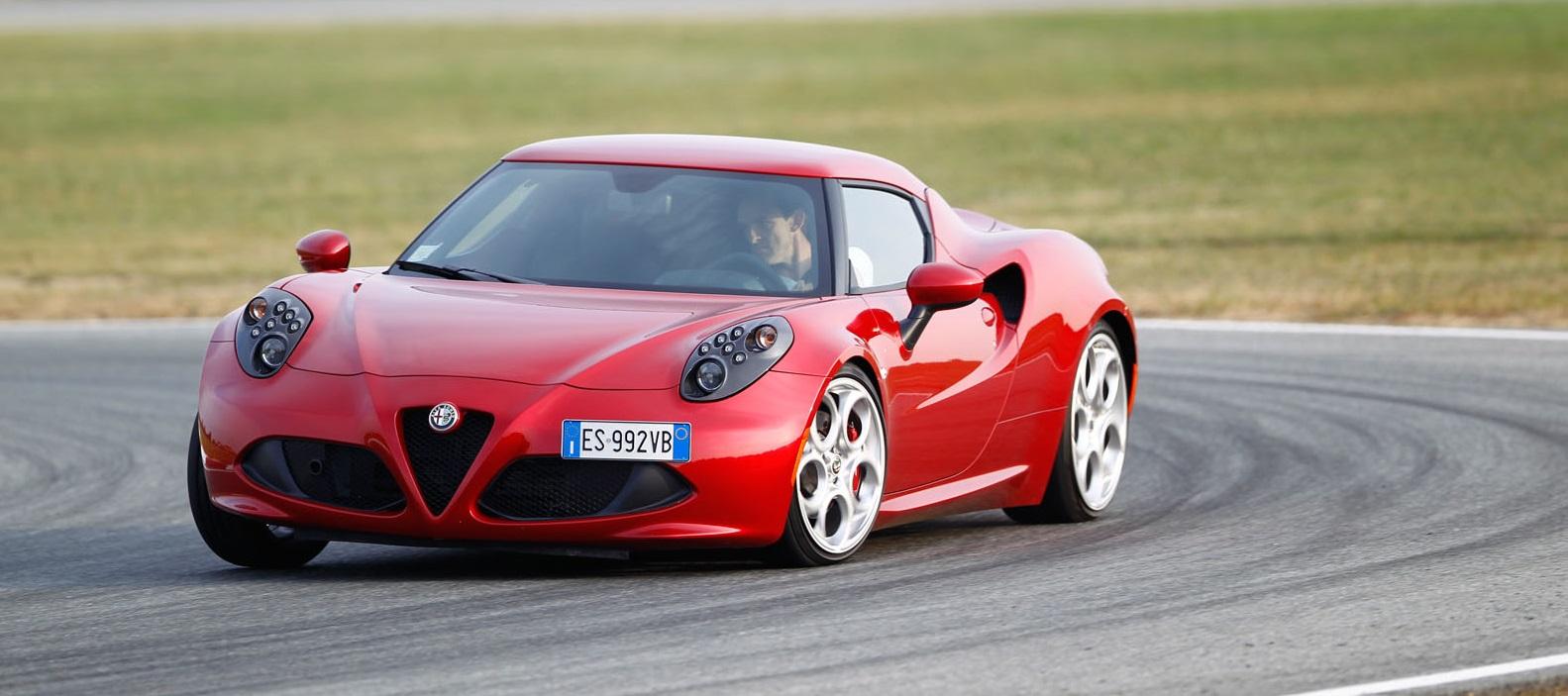 Тест-драйв Alfa Romeo 4C