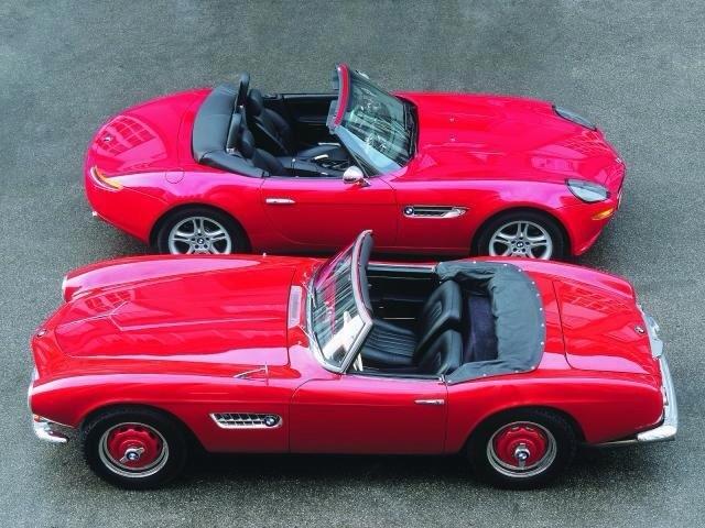 BMW 507 1955-1959 и BMW Z8 2000-2003