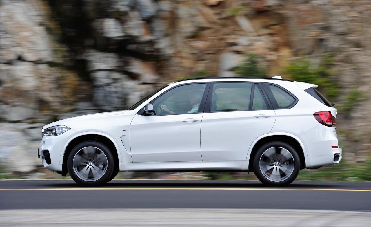 Тест BMW X5 F15
