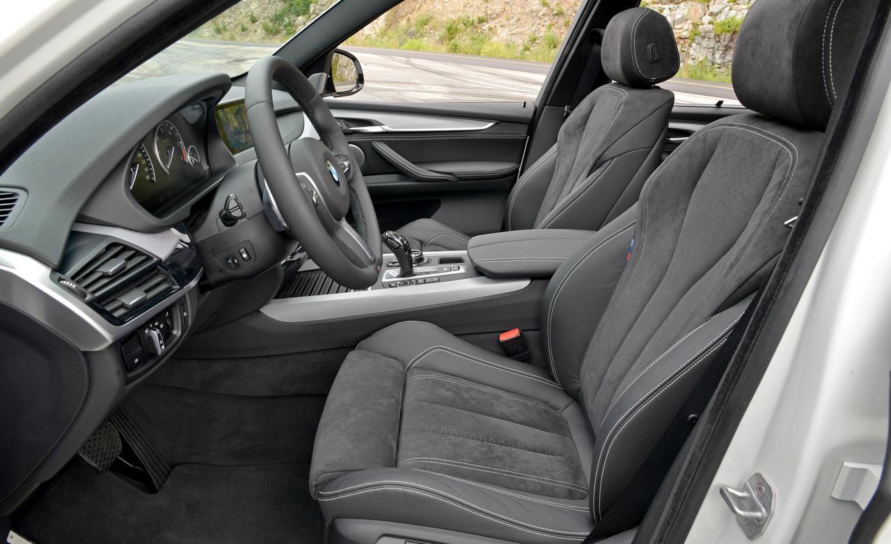 BMW X5 F15 интерьер
