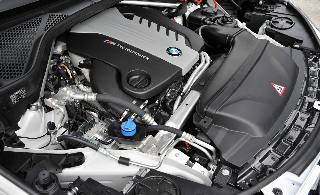 BMW X5 M50d F15 мотор