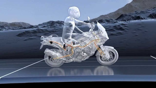 Bosch's Motorcycle Stability Control