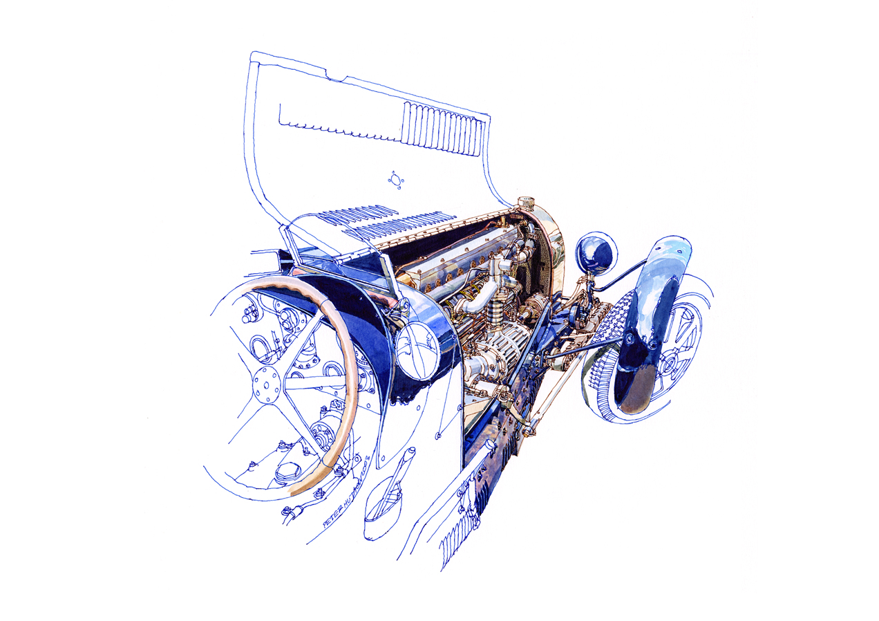История Bugatti Type 35