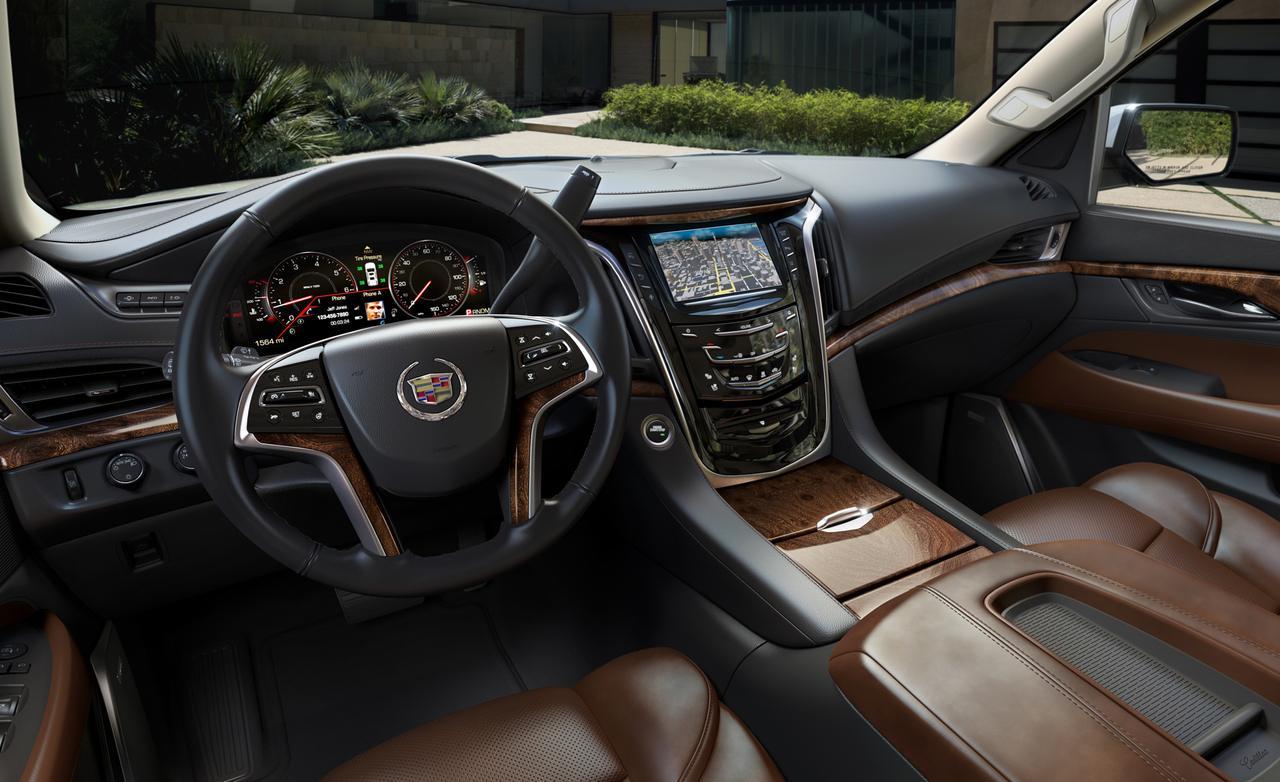 Cadillac Escalade нового поколения