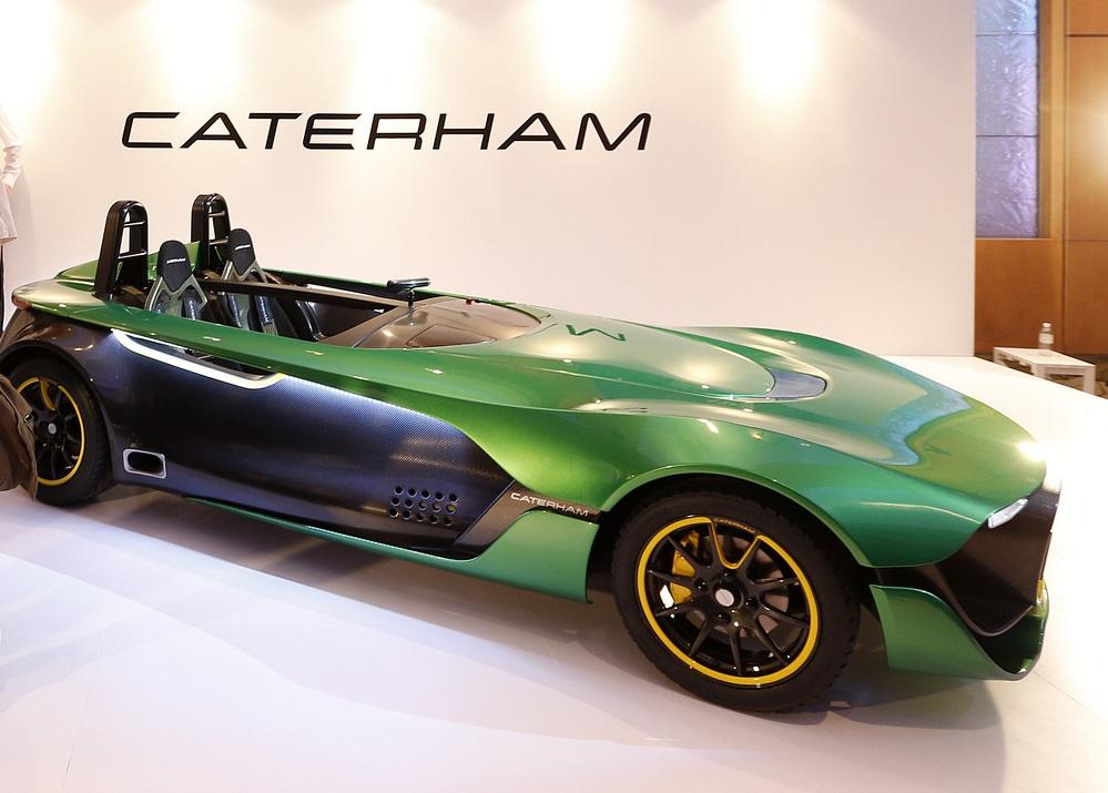 Новинка от Caterham и Renault - AeroSeven