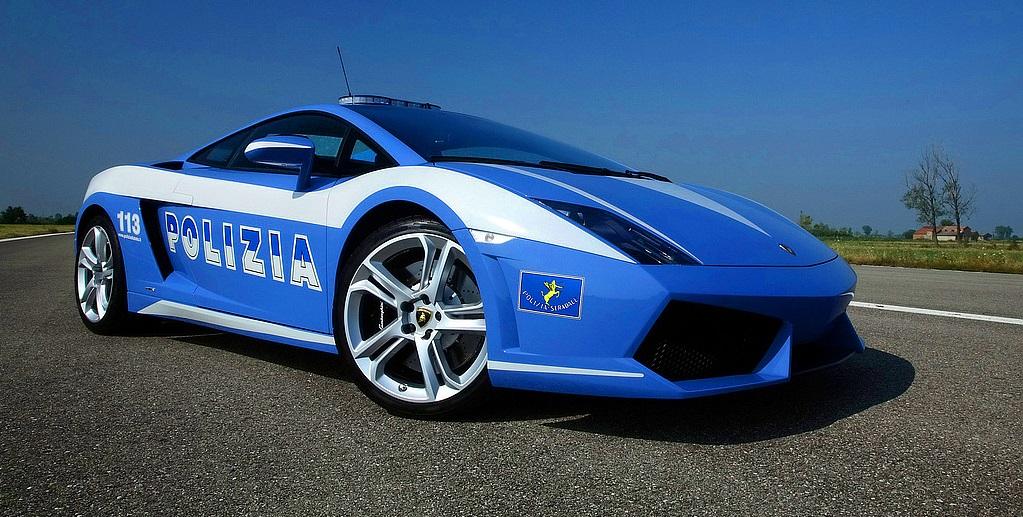 Lamborghini Gallardo полицейская