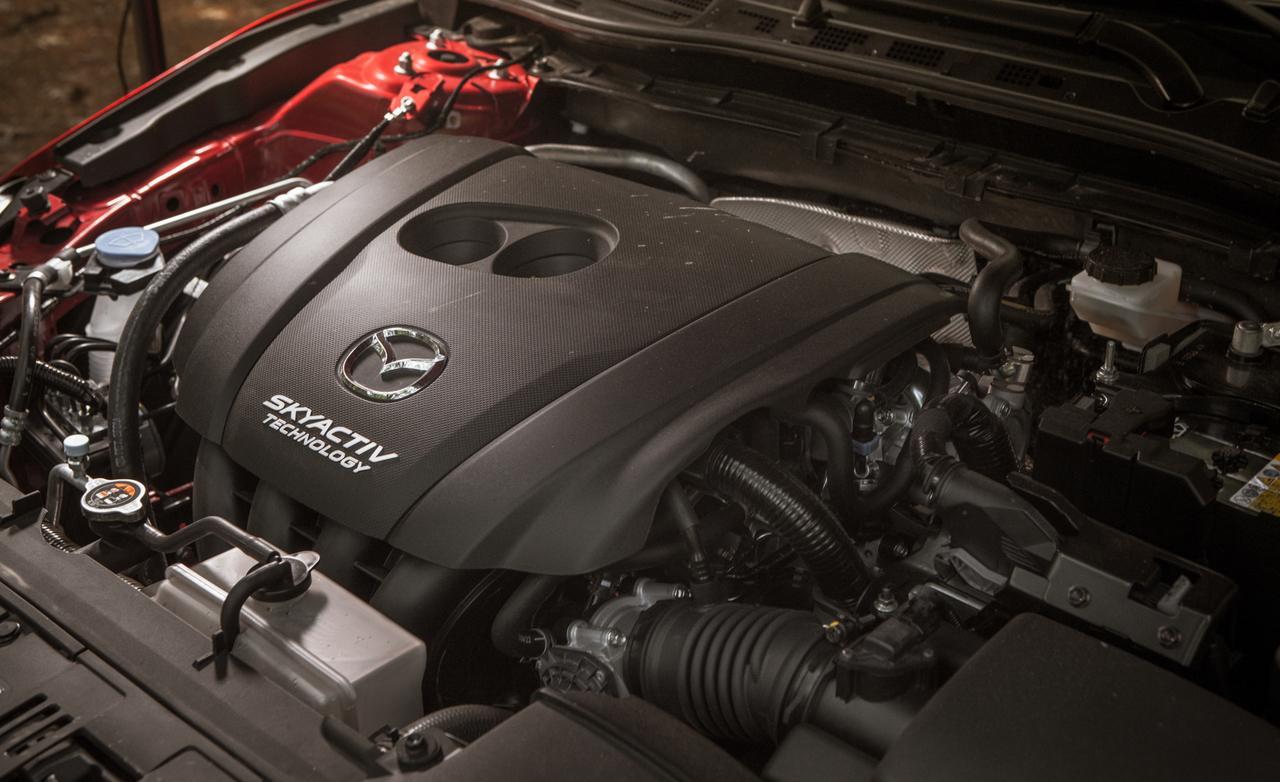 Mazda3 тест-драйв