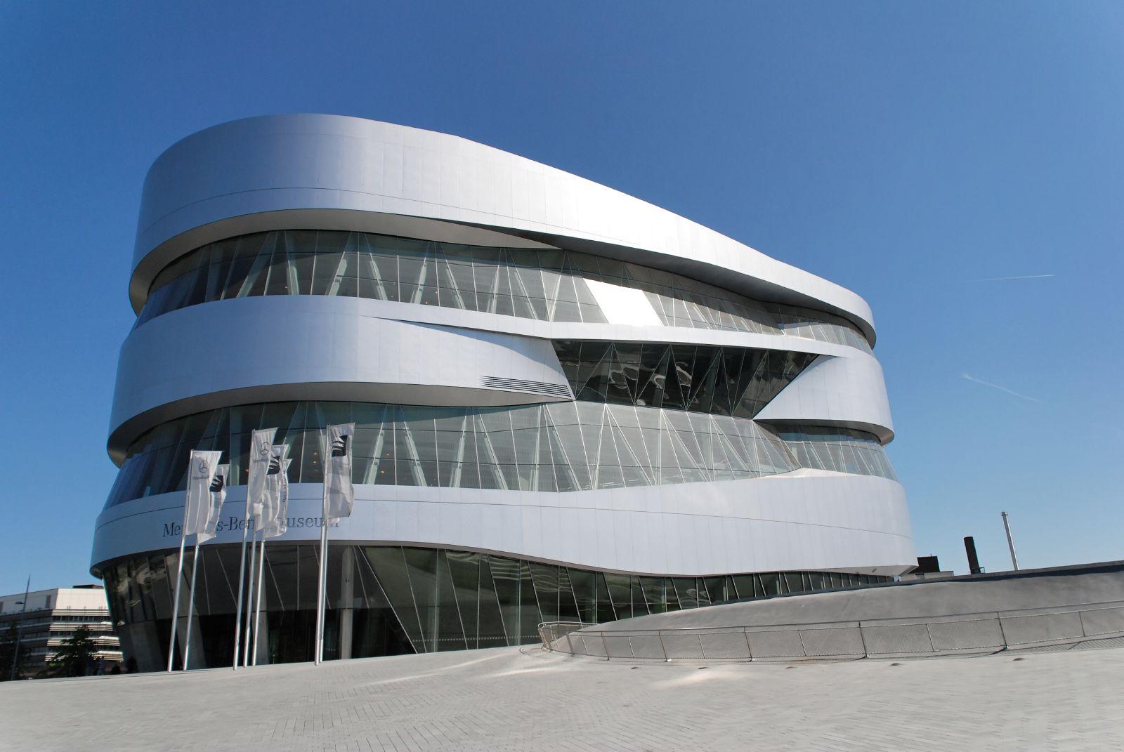 Mercedes Benz Museum главное здание