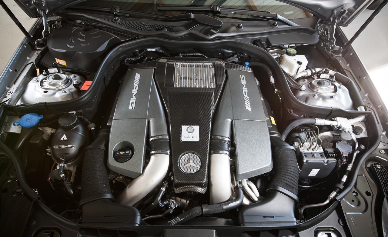 двигатель Mercedes-benz cls 63 amg s model-4matic