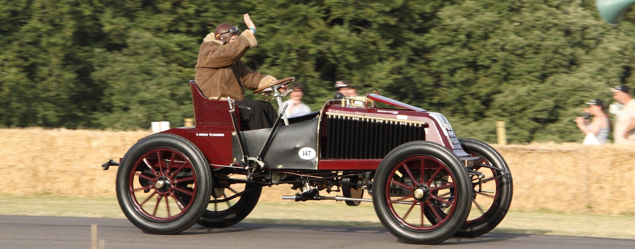 1902 год Renault Type K