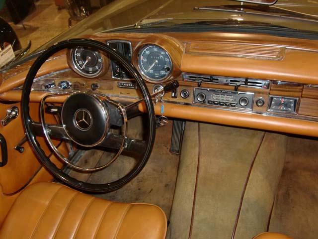 Салон Mercedes 280 SEV W111