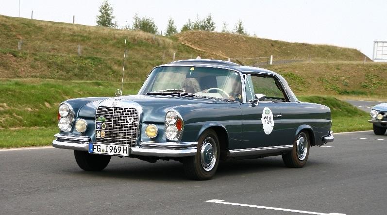Опыт владения Mercedes 280 SEV W111
