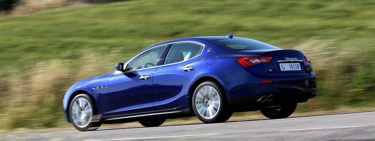 Тест Maserati Ghibli