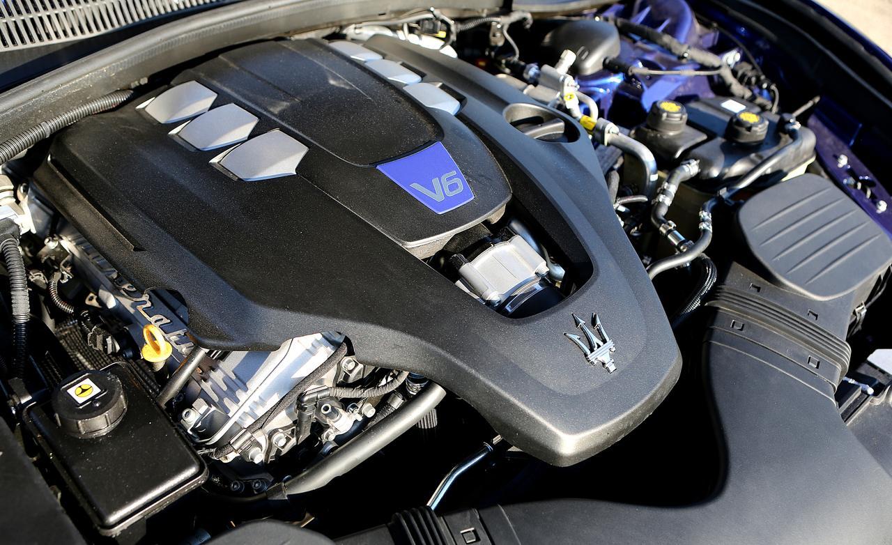 мотор Maserati Ghibli