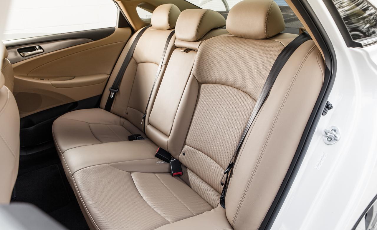 Тест Hyundai Sonata рестайлинг 2014