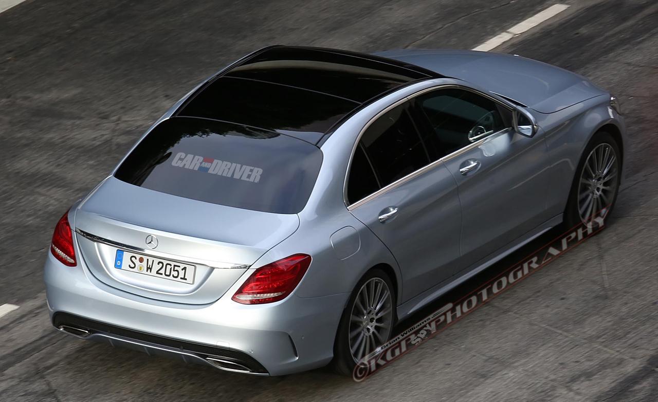 Новый  C-класс Mercedes