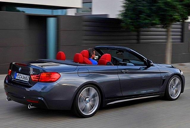 Новый кабриолет BMW четвертой серии