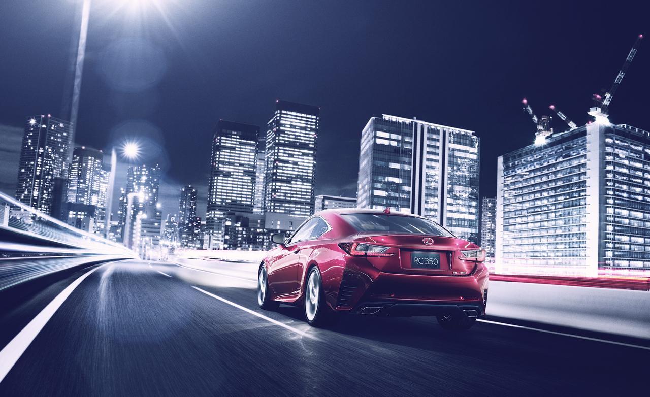 Дебют Lexus RC 350