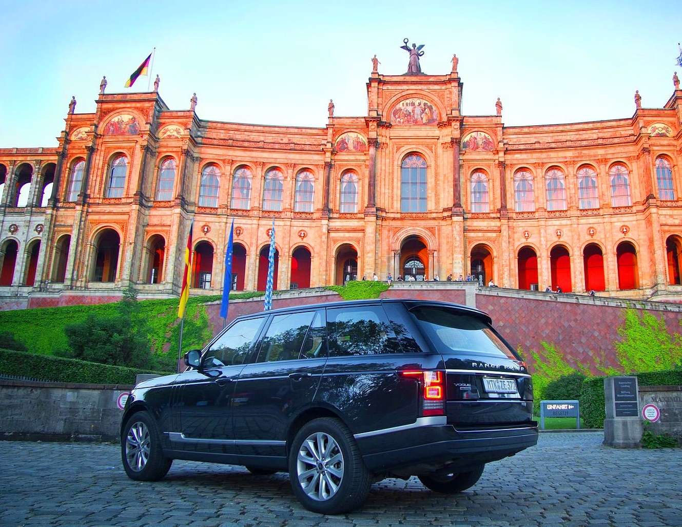 тест Range Rover SDV8