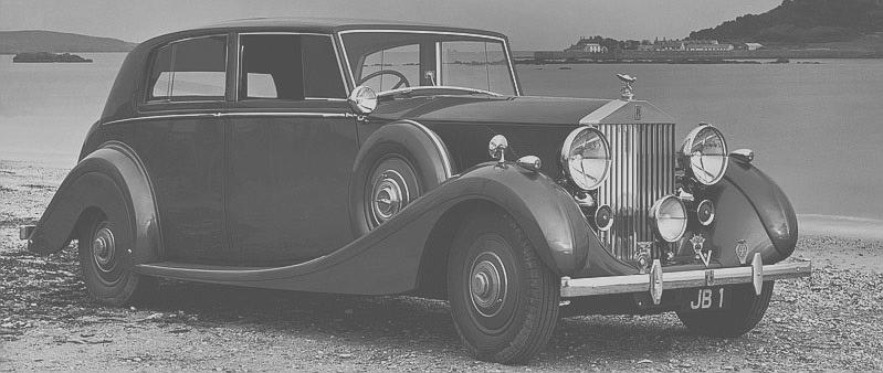 Rolls-Royce Silver Wraith 1938 года выпуска