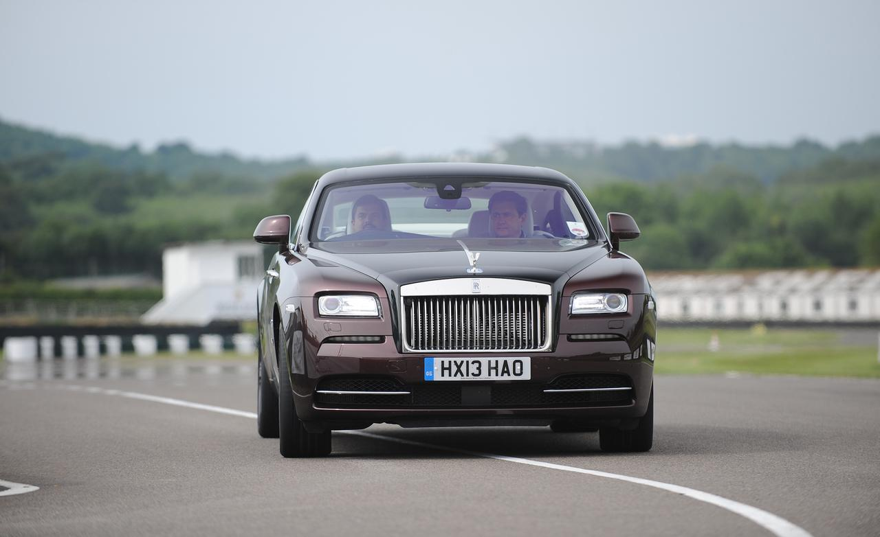 Тест-драйв Rolls-Royce Wraith