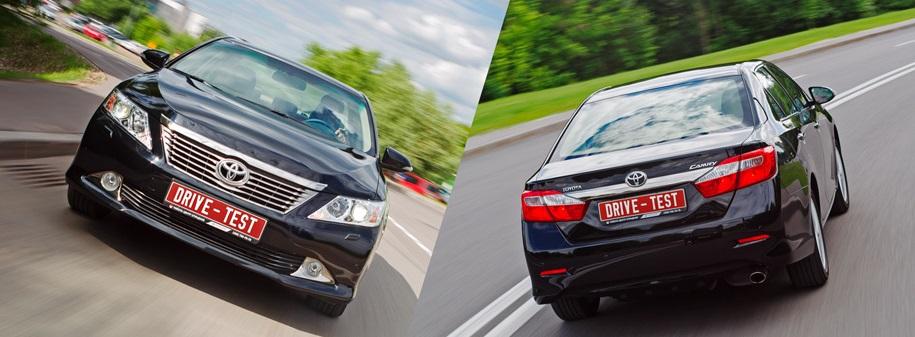 Toyota Camry против Honda Accord