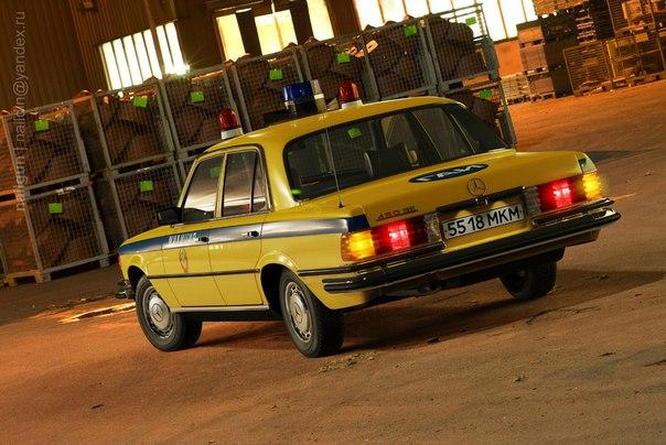 Mercedes-Benz W116 на службе милиции СССР